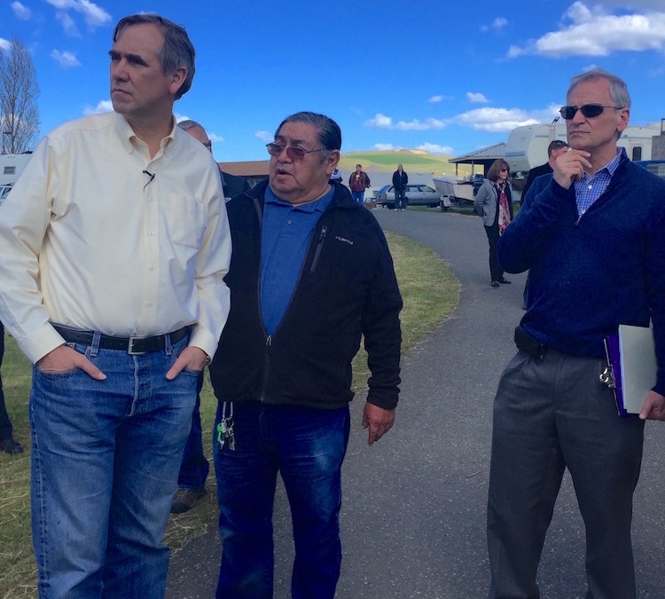 Congressional Visit to Zone 6 Tribal Fishing Sites