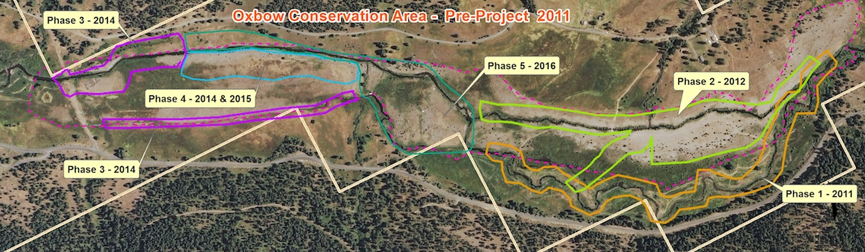 Middle Fork John Day River - phase map