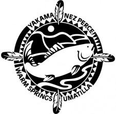 CRITFC logo black and white