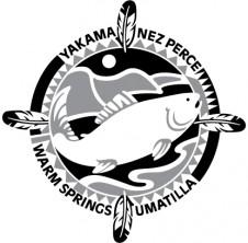 CRITFC logo grayscale