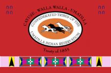 Logo of the Umatilla tribe