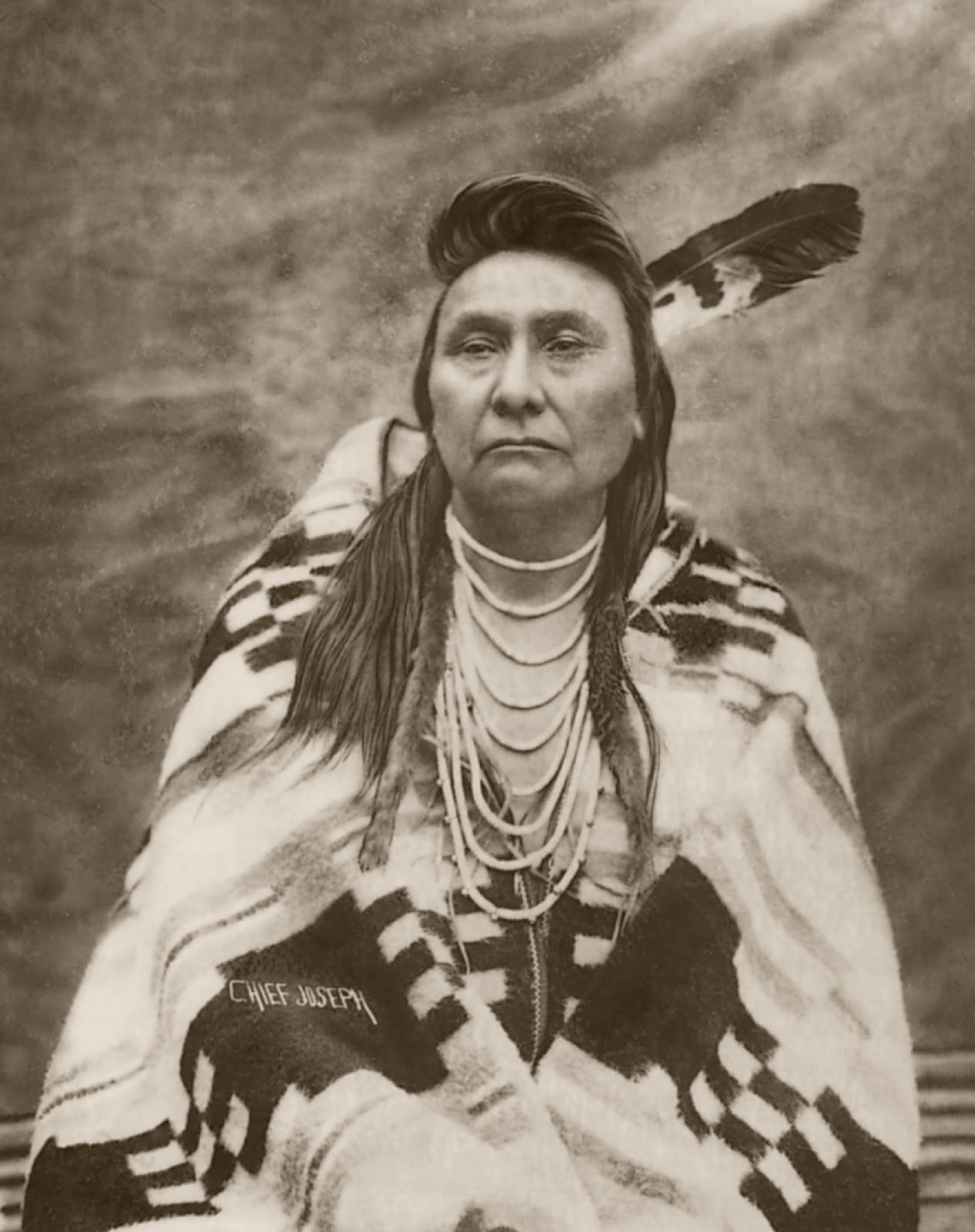 Perce Chief Joseph  one of the most famous tribal leaders in American    American Indian Chief