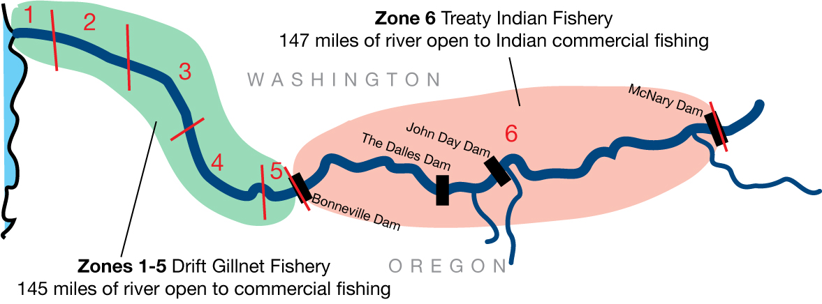 Zone6 Fishing Zones Map Critfc