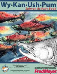 Salmon activity book