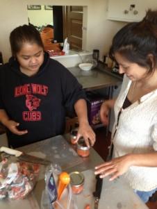 Salmon Canning class