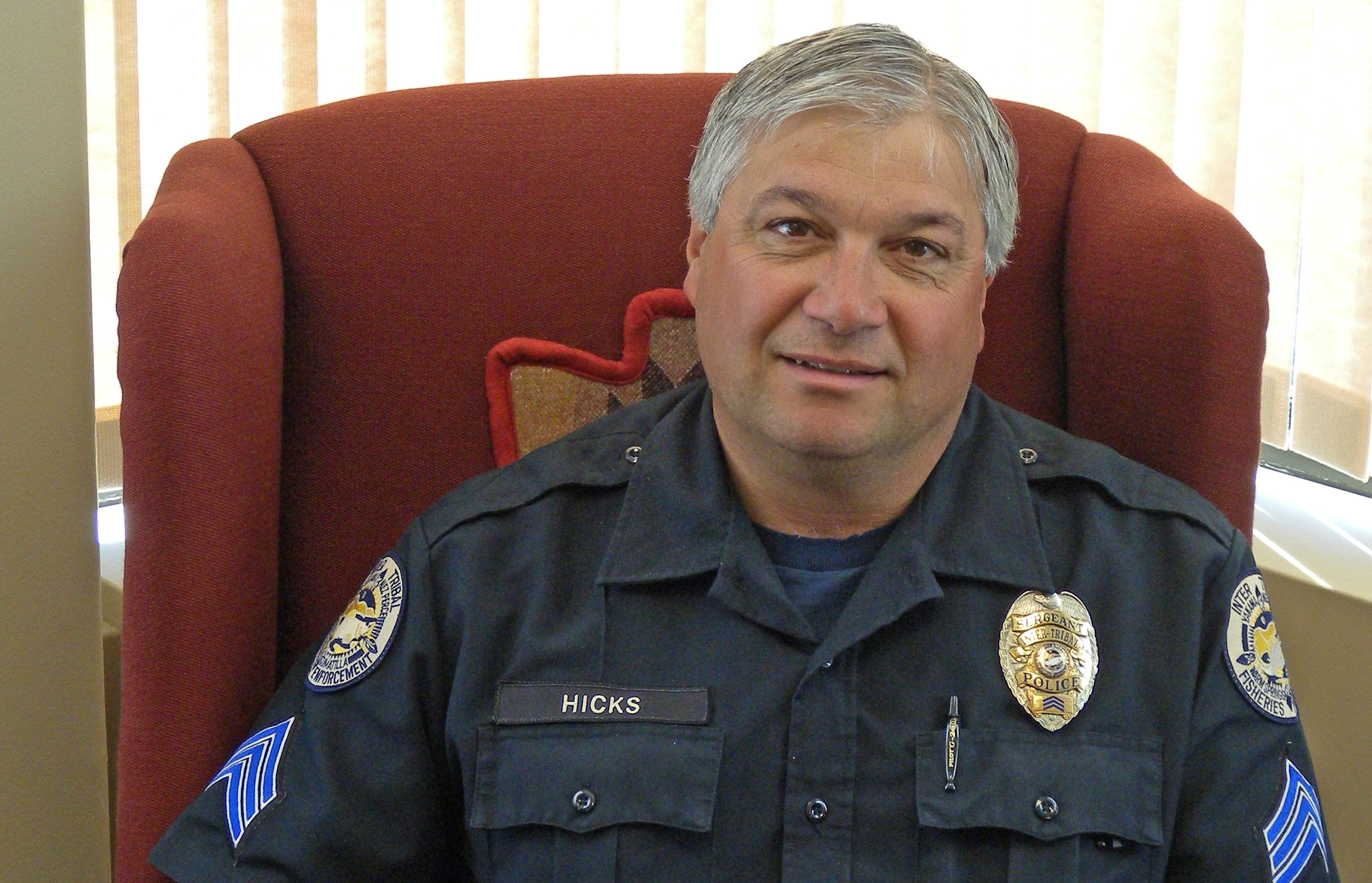 Sgt Hicks Promoted to Enforcement Chief