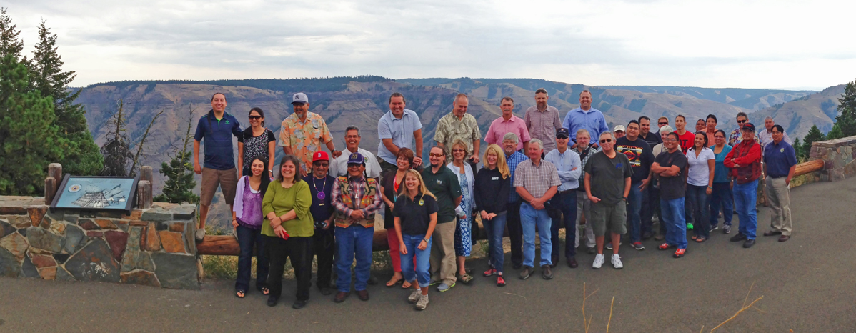 Tour of the Nez Perce Tribe's Northeast Oregon Projects