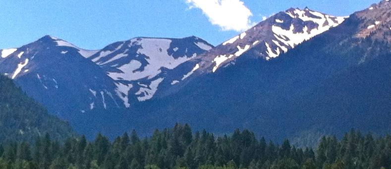Wallowa Mountains, July 2012.