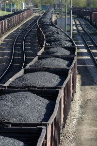 Coal trains can be 1 to 1-1/2 miles long, releasing dust and debris and severing communities through with the rail lines pass.